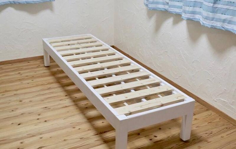 木工舎あると工房の延長ベッド