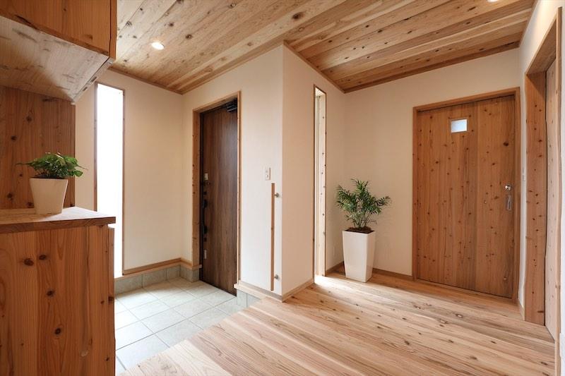 空気清浄機も芳香剤も必要ない空気がうまい家®︎(玄関)