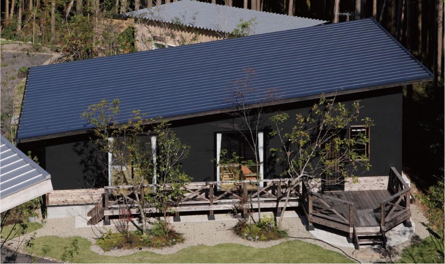 空気がうまい家®︎片流れの屋根