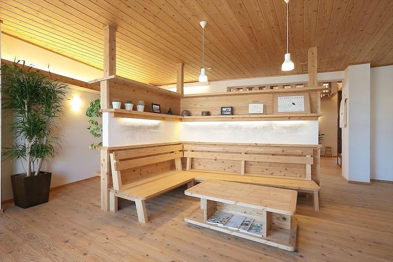 空気がうまい家®︎造作家具