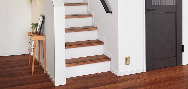 リクシルの階段ユニット(様々な種類があります)