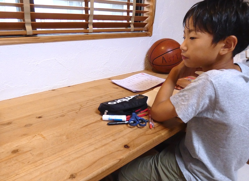 おむつをしていた男の子が6年生に。アトピーの気配は皆無(空気がうまい家®︎・京都府宇治市)