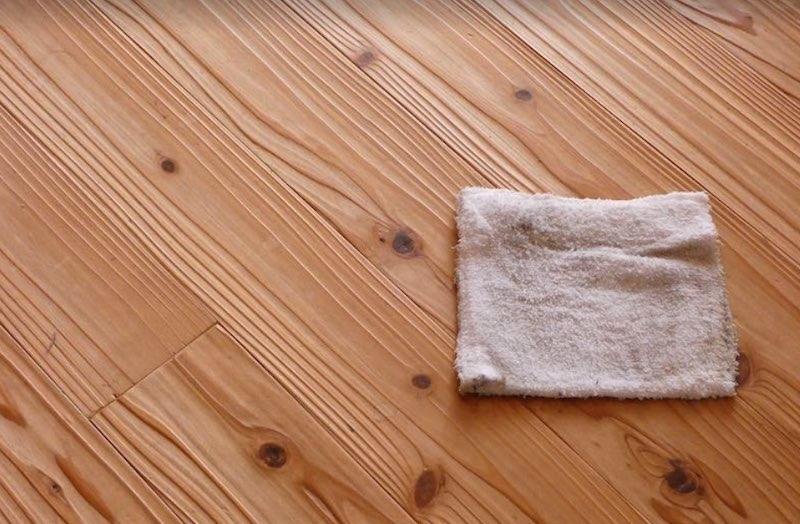 空気がうまい家®︎に使用している杉無垢材(うづくり・10年床に使われたもの)