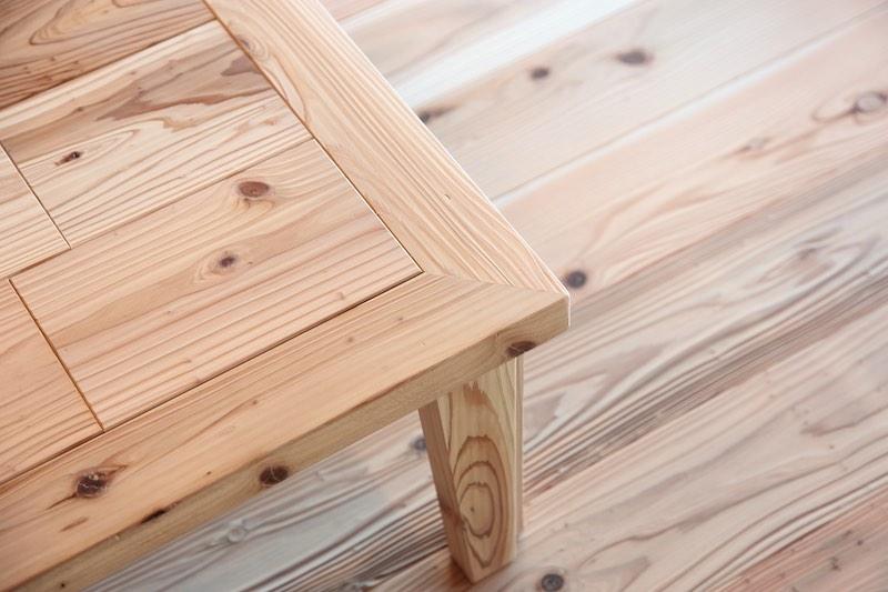 うづくりにした音響熟成®︎木材