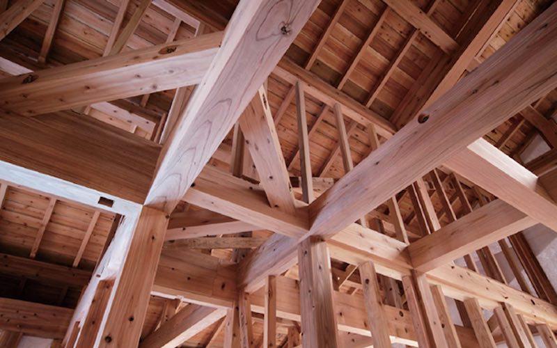無垢材(音響熟成®︎木材)の構造