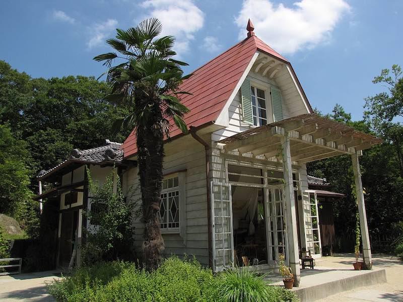 大正〜昭和初期は洋館付き建物も見られるようになった(和洋折衷)