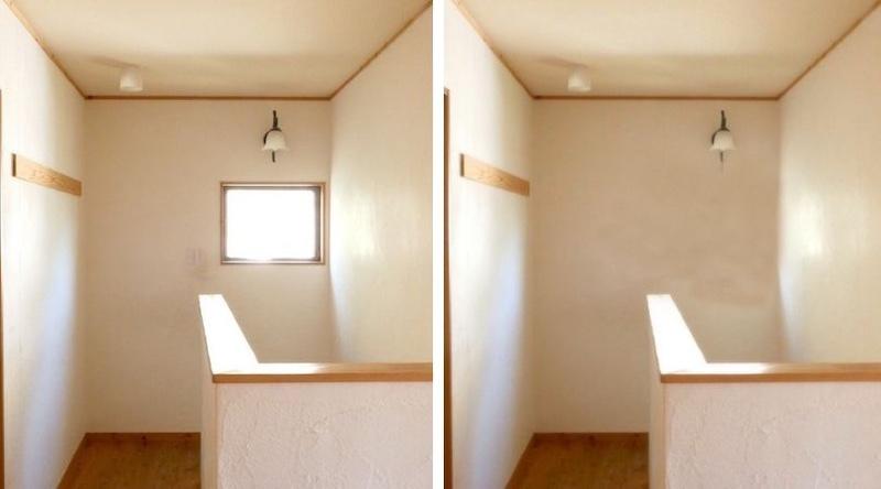写真を加工して窓を埋めてみた時の印象(窓の重要性・空気がうまい家®︎)