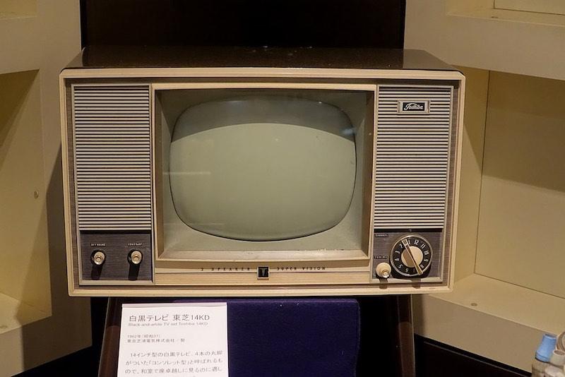 1960年代に一般家庭に普及したテレビ