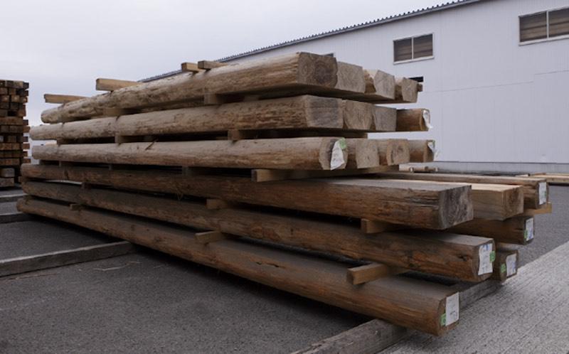 空気がうまい家®︎に使用してしている音響熟成®︎木材